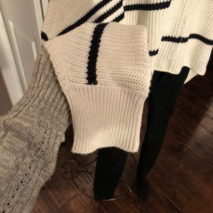Design Lab Lord & Taylor Sweaters - Design Lab - Poncho Sweater with Sleeves